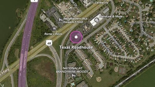 An attempted robbery took place outside the Texas Roadhouse in Bear.