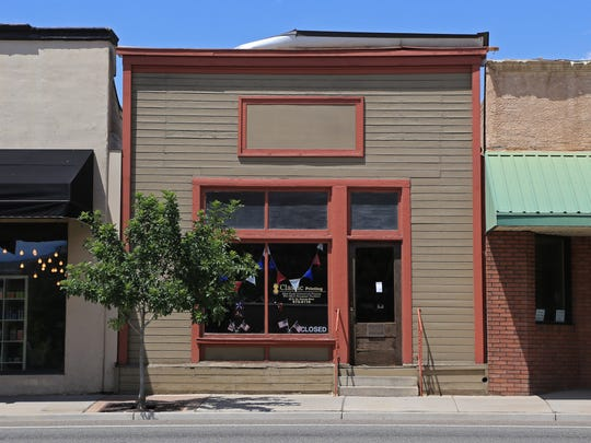 Classic Printing on St. George Boulevard was formerly a saloon in Silver Reef before it was moved to St. George.