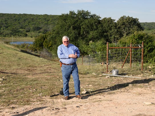 Commissioner Chuck Statler discusses the current project