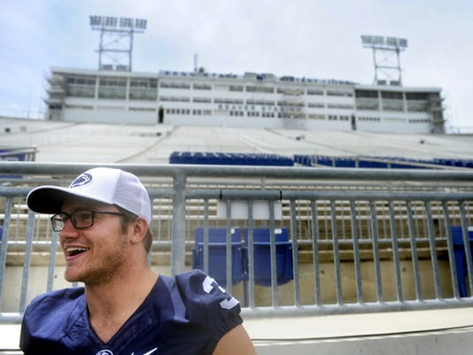 "Penn State linebacker Ben Kline missed last season because of a torn Achilles' tendon and, before that, surgeries on his shoulder and torn pectoral muscle after the 2013 season. The Dallastown graduate's teammates praised him for his work rehabbing from those injuries and also called him the smartest player on the team, as well as a leader. ""He's one of the guys who can stand up and say something and the entire team will respect what he has to say and listen to him,"" tight end Adam Breneman said."
