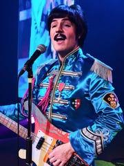 "Paul Curatolo plays Paul McCartney in ""Rain: A Tribute"