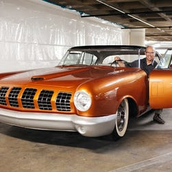 Just Cool Cars: Futuristic '55 Mercury D528