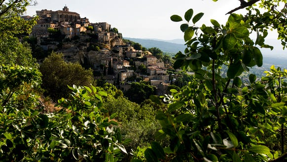 The village of Gordes.
