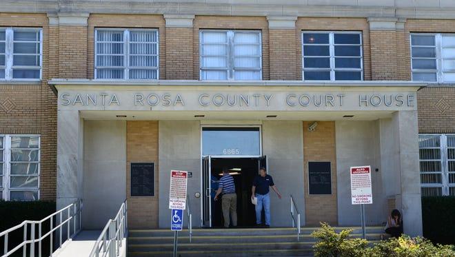 Santa Rosa County Courthouse.