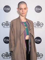 'Billions' star Asia Kate Dillon, who is gender non-conforming.