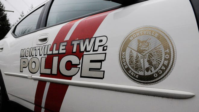 A pedestrian was struck by a truck's side view mirror as she walked in Montville.
