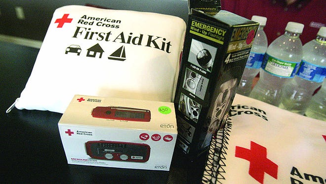 Families should have an emergency kit in the event of disaster.
