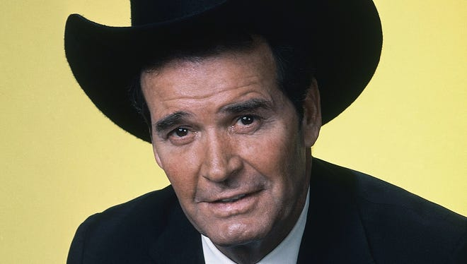 "Actor James Garner is shown in character in this April 7, 1982, file photo. Garner, wisecracking star of TV's ""Maverick"" who went on to a long career on both small and big screen, died Saturday July 19, 2014, according to Los angeles police. He was 86."