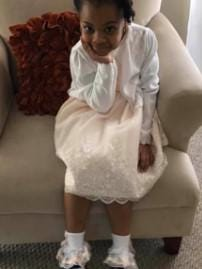 Lillie Reed, 7, who was killed in an April 2019 car crash in South Linden. Her father, Edward A. Robinson, 32, was sentenced Tuesday, Aug. 11, 2020 in Franklin County Common Pleas Court to four years in prison for her death.