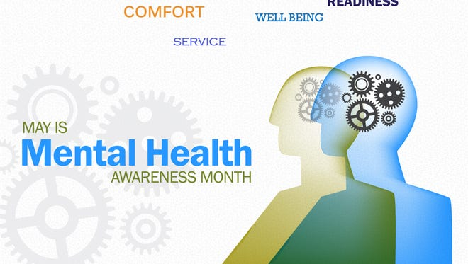 May is mental health awareness month, and mental health disorders are common in both military and civilian communities. Fortunately, effective treatments exist for most mental health disorders. Often, the biggest impediment to getting better is an unwillingness to seek care.