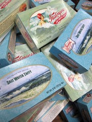 Saltwater taffy was created by accident in Atlantic