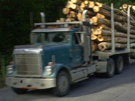 LOG TRUCK MCNULTY WILTSE