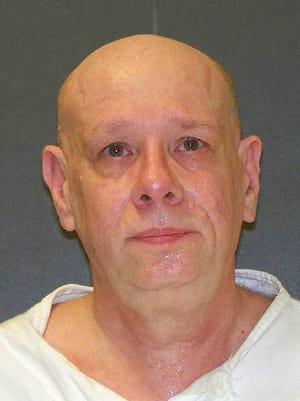 This undated photo provided by the Texas Department of Criminal Justice shows death row inmate James Bigby. Bigby, who was convicted of killing a father and his infant son during a murder rampage on Christmas Eve 1987 that also left two other people dead nearly three decades ago, is scheduled to be executed Tuesday evening March 14, 2017, in Texas.
