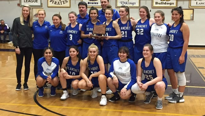 Blanchet Catholic School's girls basketball team placed third at the 3A state tournament.