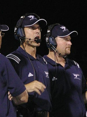 When Jim Harbaugh was coaching at San Diego, Tim Drevno was right there next to him.
