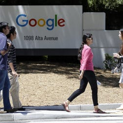 Google's Mountain View, Calif., campus