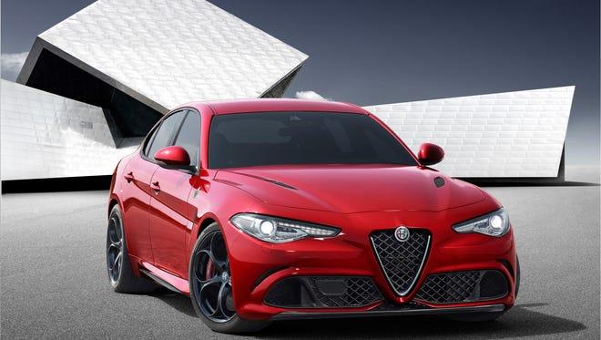 The Alfa Romeo Giulia was reveal today in Milan, Italy