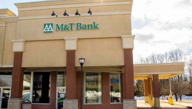 This M&T Bank is on Route 27 in the Kendall Park section of South Brunswick.