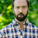 Comedian Tom Green performs at The Millroom on Tuesday night.