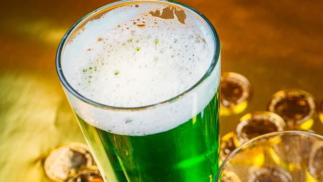 TGI Fridays will have green beer on tap and special drinks March 15-18.
