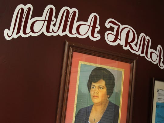 Mama Irma,1058 Virginia Avenue, was named after Irma Bravo, better known as Mama Irma. She was Mama Irma owner Hilda Cano's mother and taught Cano how to cook.