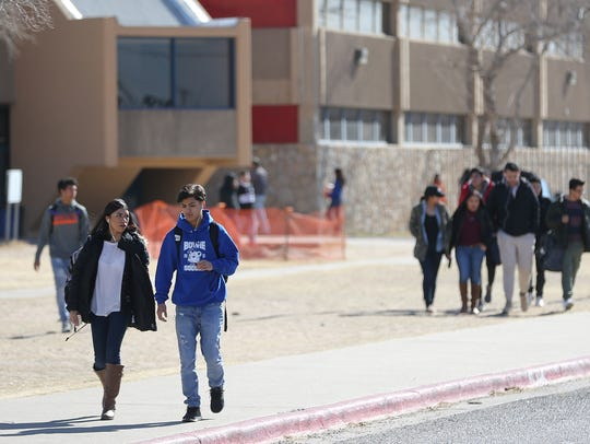 El Paso public schools will be closed for Labor Day.