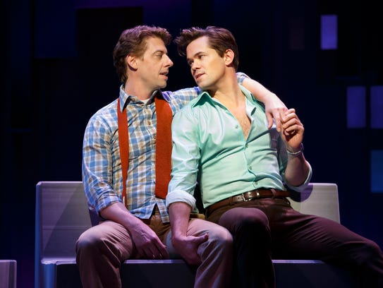 Christian Borle (left) and Andrew Rannells are both