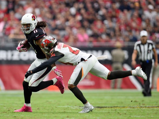 Arizona Cardinals wide receiver Larry Fitzgerald (11)