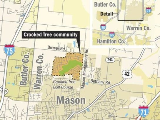 crooked tree map