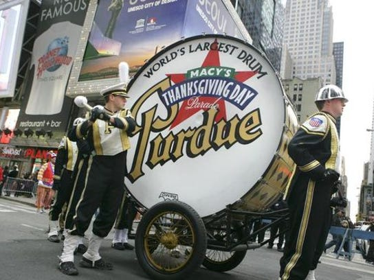 Purdue's Big Bass Drum isn't quite what it's advertised as.