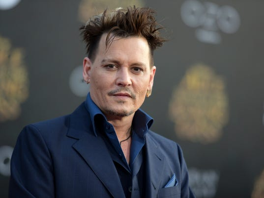 AP PEOPLE JOHNNY DEPP A ENT FILE USA CA