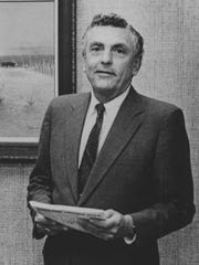 J. Willis Johnson III is seen in his office at San