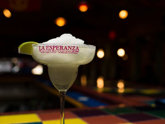 A frozen margarita from La Esperanza in Lindenwold,
