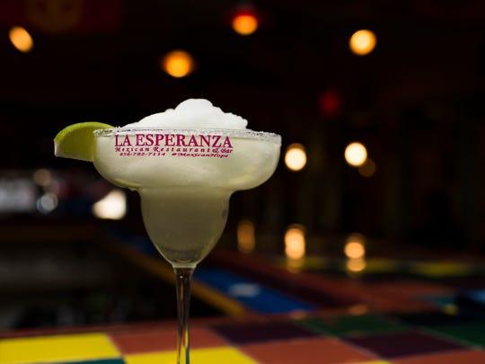 A frozen margarita from La Esperanza in Lindenwold,