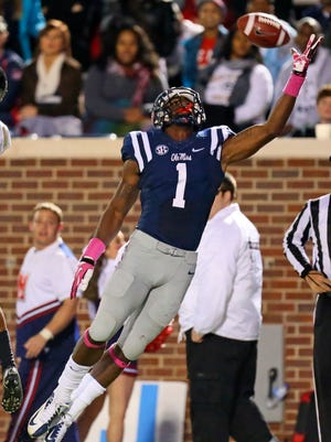 Sophomore receiver Laquon Treadwell is one of several highly-recruited players that Hugh Freeze has brought to Ole Miss and part of the reason expectations have risen for the Rebels.