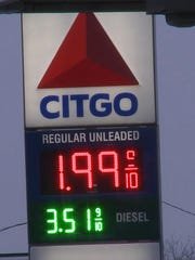 Stations in Greenville, Mich., began selling $1.99