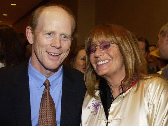 Director Ron Howard and actress Penny Marshall attend