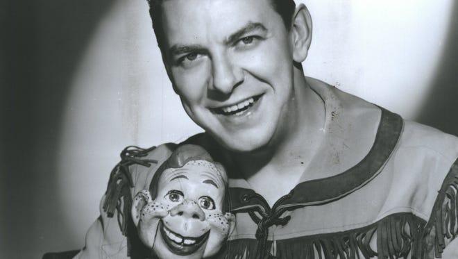 Buffalo Bob Smith and his sidekick Howdy Doody.