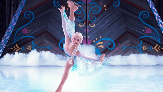 """""""Disney On Ice presents Frozen"""" presented by YoKids will skate into the Bon Secours Wellness Arena  this week."""