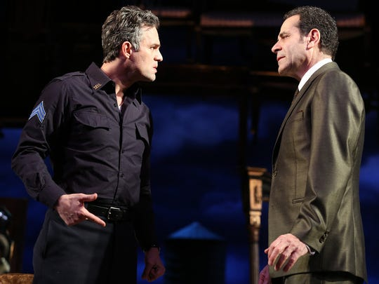 Wisconsin natives Mark Ruffalo (left) and Tony Shalhoub