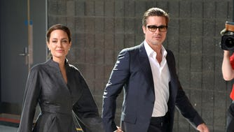 Angelina Jolie and Brad Pitt in 2014.