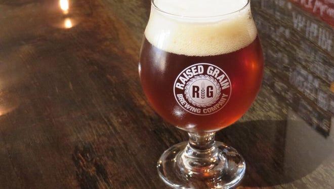 Raised Grain Paradocs won Gold at the Great American Beer Festival.