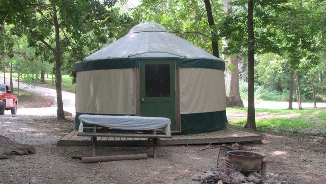 File photo of a yurt.