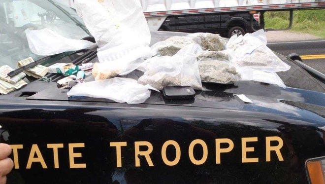 Drugs seized by FHP