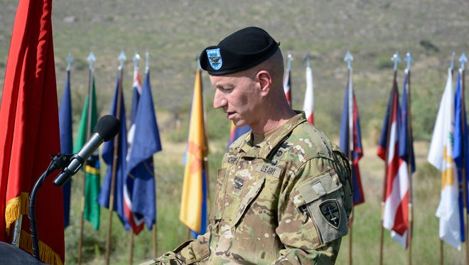 U.S. Army Col. David R. Cheney assumed command of the test center at White Sands Missile Range on June 26.