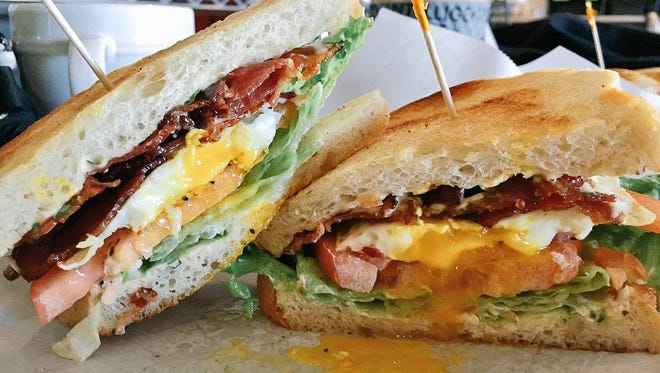 File picture - a breakfast sandwich.