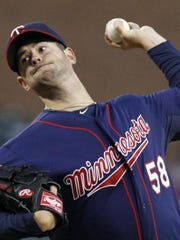 Scott Diamond pitched for the Minnesota Twins from