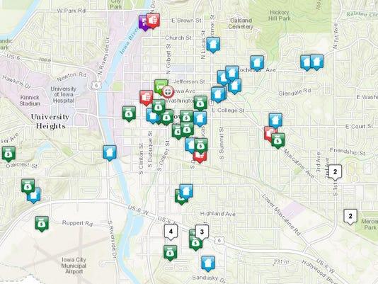 Iowa City Crime Map