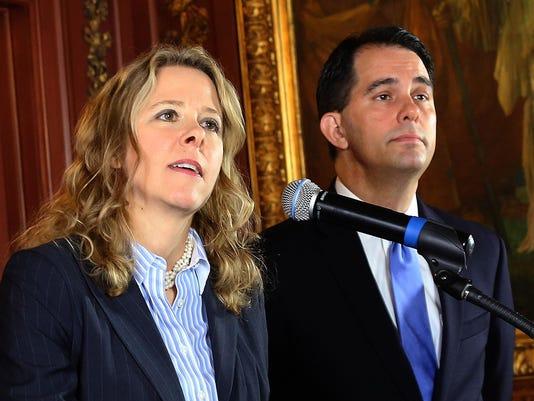 Rebecca Bradley, Scott Walker