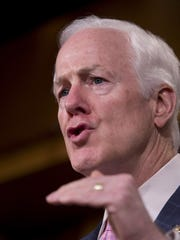 """Our Customs and Border Protection officers have the important task of not only keeping us safe, but also ensuring that the legitimate trade and travel our economy relies on can continue to flow swiftly through our ports,"" said Sen. John Cornyn, a Republican."